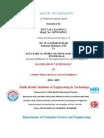 Documentation Haptic Technology