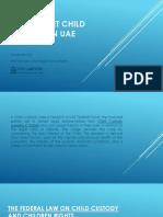How to Get Child Custody in UAE