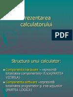 Componetele Unui Sistem de Calcul