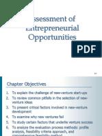 11-1 - Assessment of Entrepreneurial Opportunities