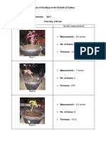 Effects of Flooding on the Growth of Coleus