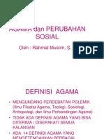 AGAMA+dan+PERUBAHAN+SOSIAL
