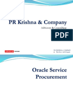 Oracle Service Procurement_PRK