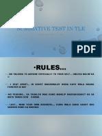 1st Summative TLE 7