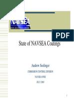 NAVSEA Corrosion Coatings