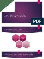 Material Akustik
