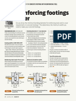 Reinforcing Footings Cover