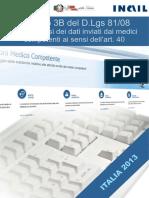 INAIL Analisi Dati Medici Competenti 2013