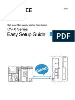 CV-X Series Easy Setup Guide