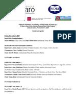 Quito Agenda Final