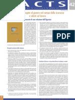 OSHA EU Factsheet 42 Genere e Sicurezza e Salute Sul Lavoro