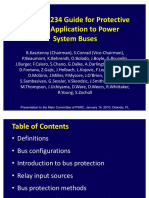 IEEE C37.234 GUIDE FOR PROTECTIVE RELAY APPLICATION TO POWER SYSTEM BUSES