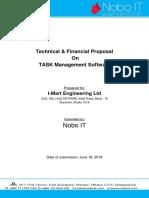 Task Management - Proposal - Nobo IT