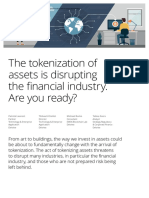 Deloitte the Tokenization of Assets Disrupting Financial Industry