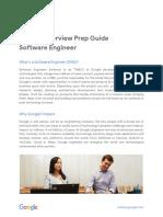[Google Interview Prep Guide] SWE