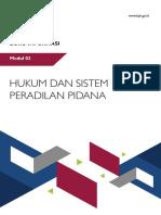 Modul Hukum Dan Sistem Peradilan Pidana WS APIP