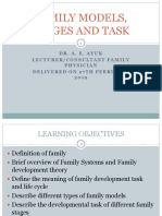 168 Lecture on Family Models Stages and Task Dr a E Ayuk