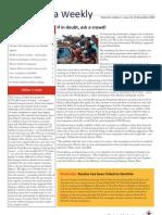 Zambia Weekly - Week 46, Volume 1, 19 November 2010