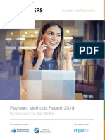 Payment Methods Report 2019 - Innovations in the Way We Pay