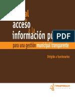 9. Manual de Acceso a La Informacion Para Una Gestion Municipal Transparente
