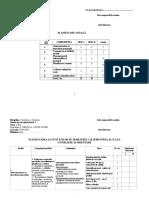 planificare dirigentie clasa a XI-a