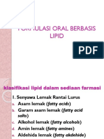 Oral basis lipid