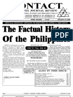 The Factual History of the Philippines