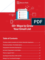 Return Path 50 Ways to Grow Your Email List