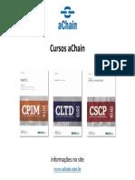 Cursos CPIM, CLTD e CSCP disponíveis. Inscrições