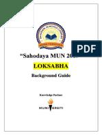 LOK SABHA MUN Guide