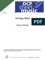 Heritage Mass