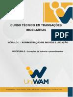 Caderno Unidade 2 - Locações Dos Imóveis e Procedimentos