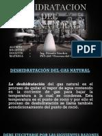 Deshidratacion Del Gas Natural