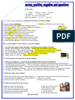 Present Simple 3rd Personpositive Negativequestion Grammar Drills Grammar Guides 20779