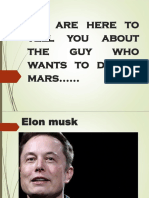 Elon musk and his businesses