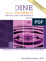Iodine - Why You Need It, Why You Can't Live Without It - David Brownstein (2014)