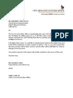 Letter Deped