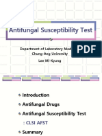 CLSI Antifungical Susceptibility test updated