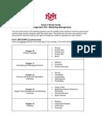 Marketing Exam 2 Study Guide