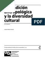 Modulo 1 La tradición antropológica y la diversidad cultural (2019)