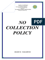 No Collection Policy