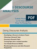 Doing Discourse Analysis Ppt