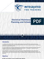 Electrical Maintenance Planning and Scheduling 2