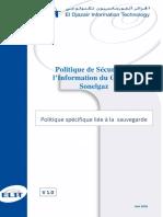 3-2-Politique de Sauvegarde V1.0