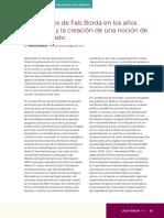 Moreno - Los Apuntes de Fals Borda en Los Años Cincuenta y La Creación de Una Noción de Campesinado