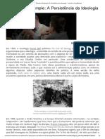 Theodore Dalrymple_ a Persistência Da Ideologia - Contra Os Acadêmicos