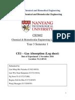 CE1 - Gas Absorption