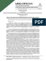 CREA UN MECANISMO TRANSITORIO DE ESTABILIZACIÓN DE PRECIOS DE LA ENERGÍA ELÉCTRICA PARA CLIENTES SUJETOS A REGULACIÓN DE TARIFAS