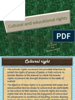 SSC PPT-Cultural & Educational Right