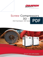 Champion Screw Compressors 30-45